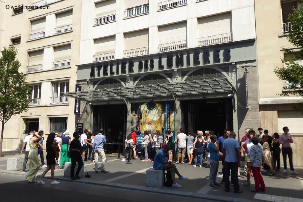 L'Atelier des Lumières in Paris 11