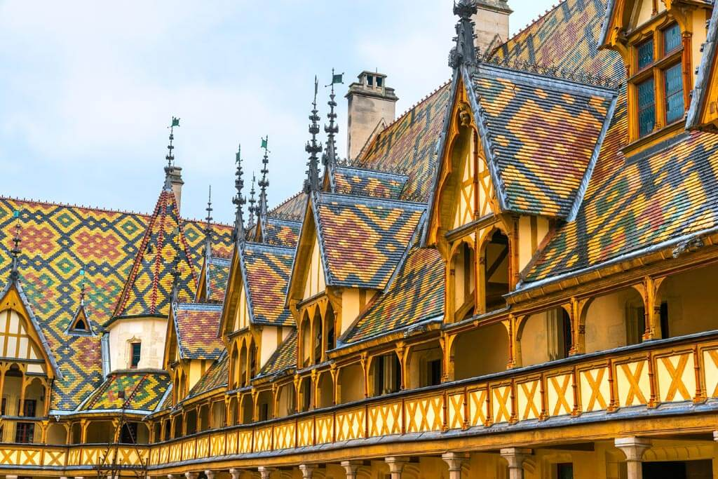 Hotel Dieu, Beaune Burgundy
