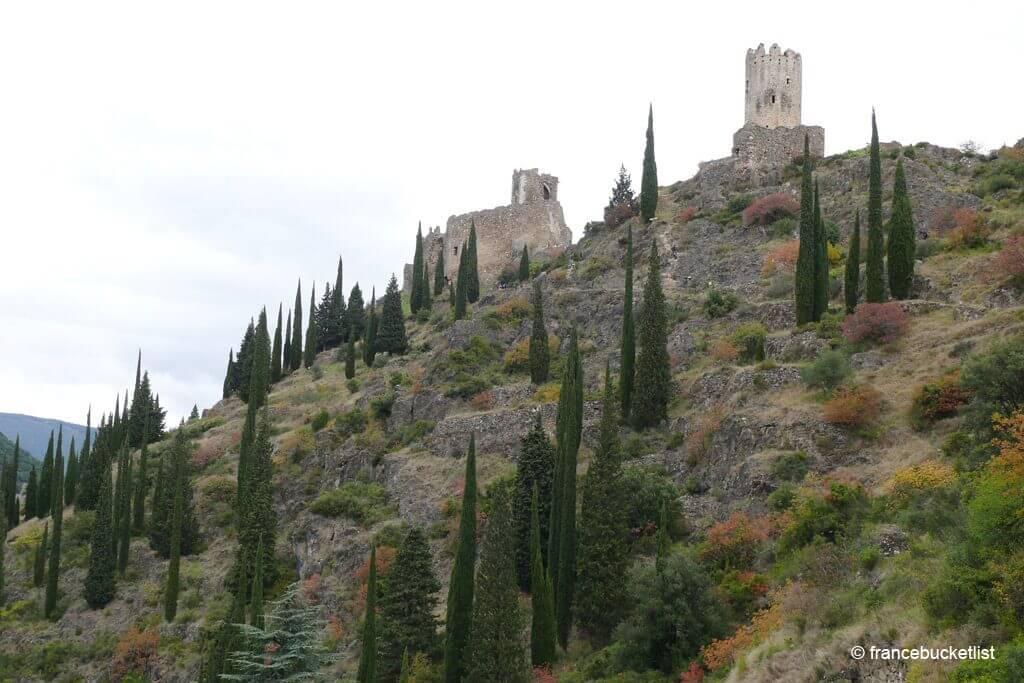 Châteaux de Lastours - France
