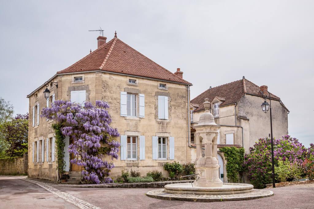 Flavigny-Sur-Ozerain Burgundy