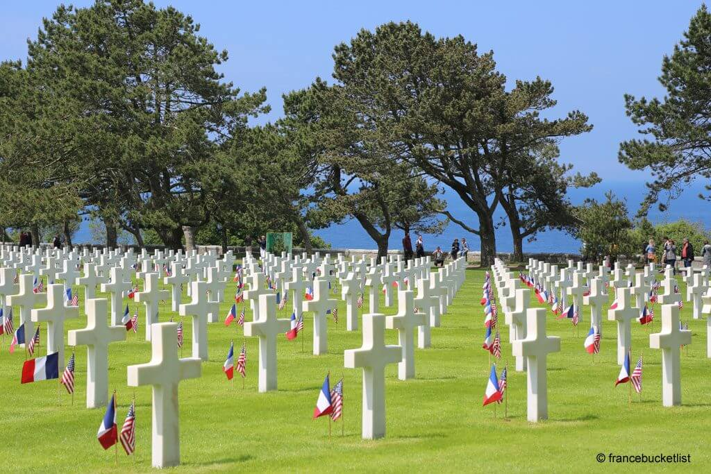 American Cemetery Saint Laurent Normandy