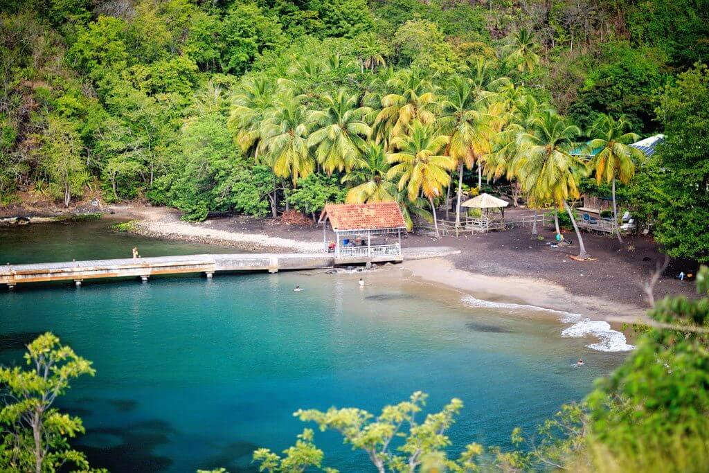 Anse Noire Beach - Martinique, French Antilles