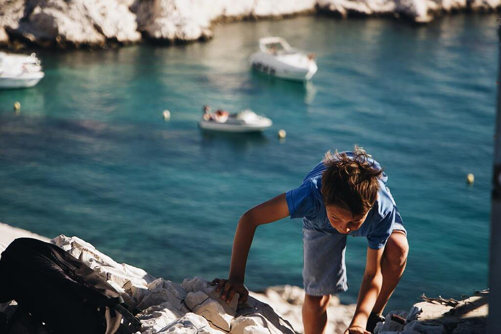 Calanques Marseille - Cassis rock climbing
