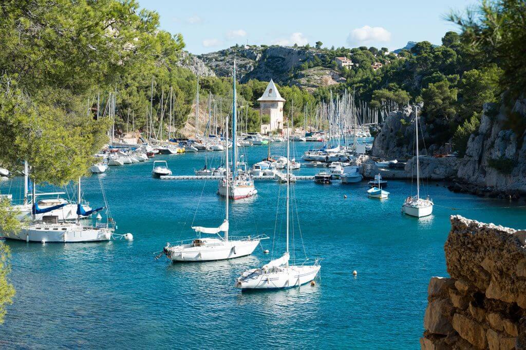 Calanques de Marseille by boat