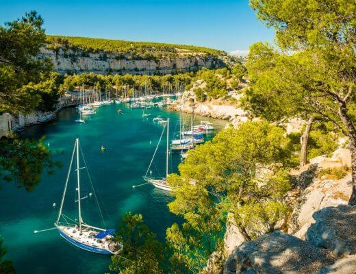 Calanques Marseille Port Miou