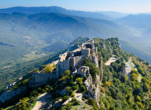 Château de Peyrepertuse - Cathar Country, France
