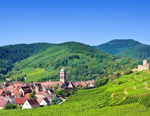 Alsace Wine Region, France