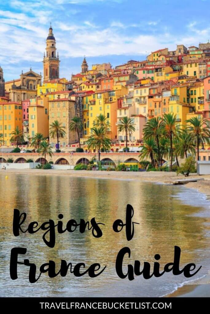 Map Of Regions Of France.Regions Of France Map And Top French Tourist Attractions France