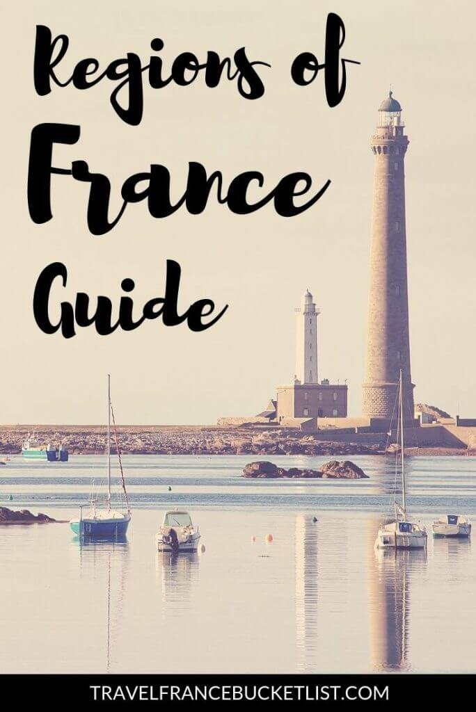 Explore the French Regions with our France by Region Guide! Regions of France Map and Top French Tourist Attractions, Getting around France and more #france #francebucketlist