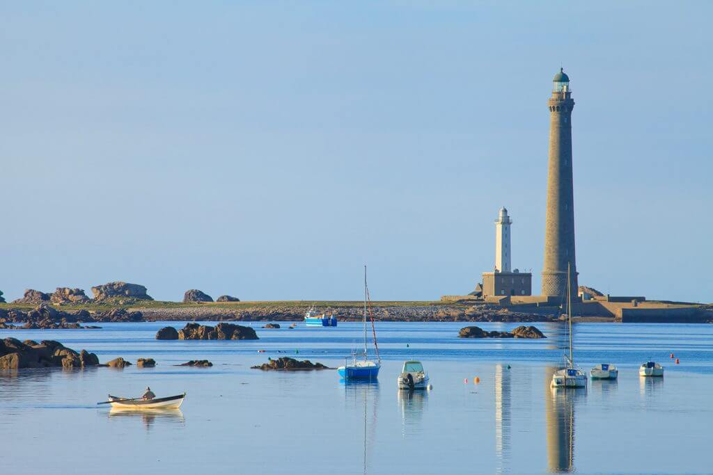 Ile Vierge Lighthouse - Plouguerneau