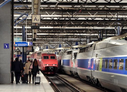 Train Station in France