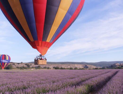 Hot Air Balloon Ride in Provence