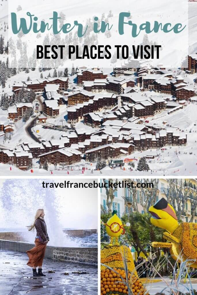 Winter in France, where to go, Best Places to Visit in France in the Winter, Winter Holidays in France, Winter Break in France #winter #france