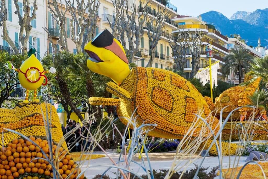 Lemon Festival Menton