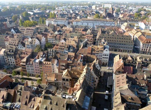 Strasbourg - View from the top
