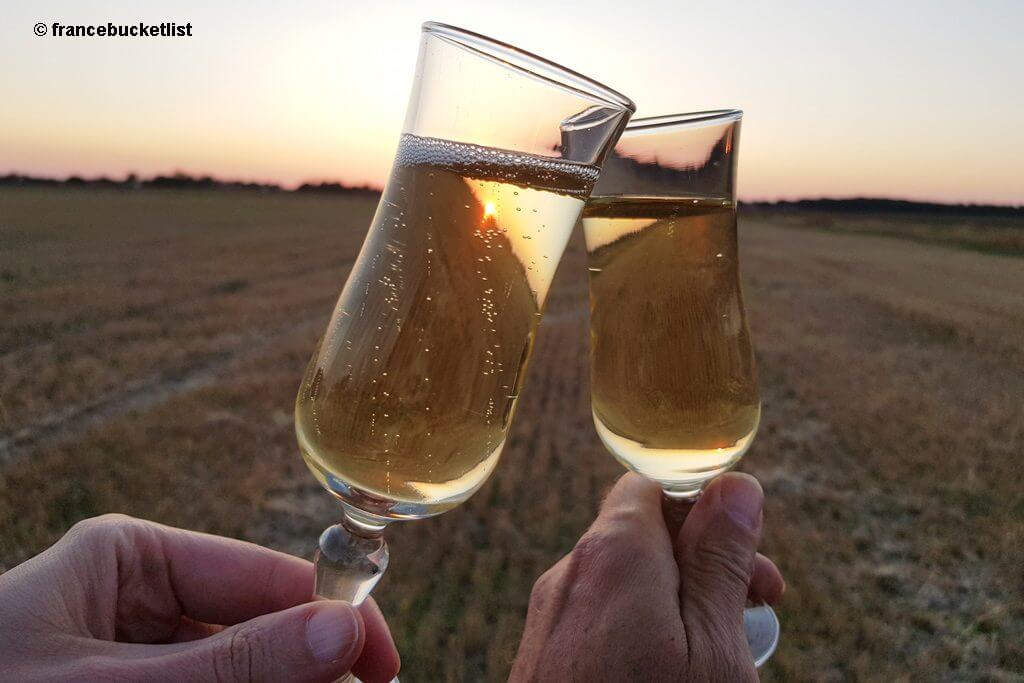 Sunset Champagne Celebration