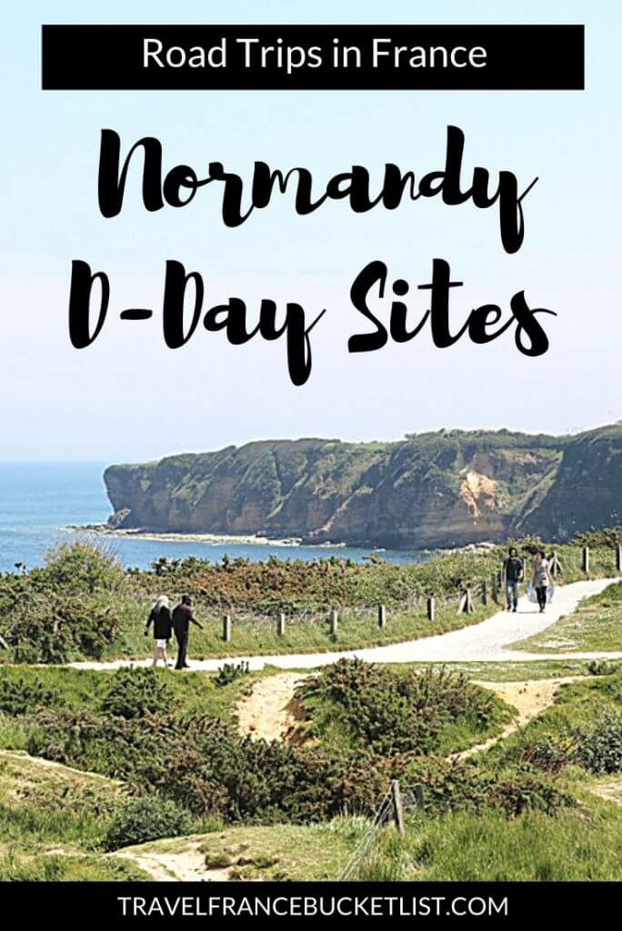 Explore the D-Day sites and Landing Beaches in Normandy France with this Normandy Road Trip itinerary. Visit the D Day Landing beaches and other WW2 sites in Normandy #france #ww2 #normandy
