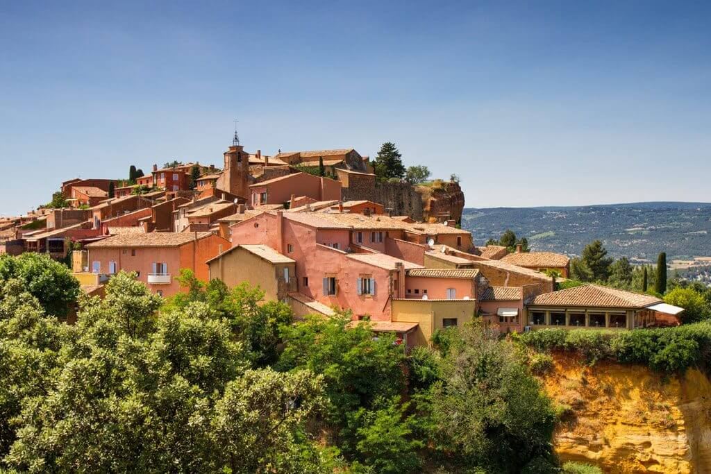 Hilltop Village of Roussillon - Provence