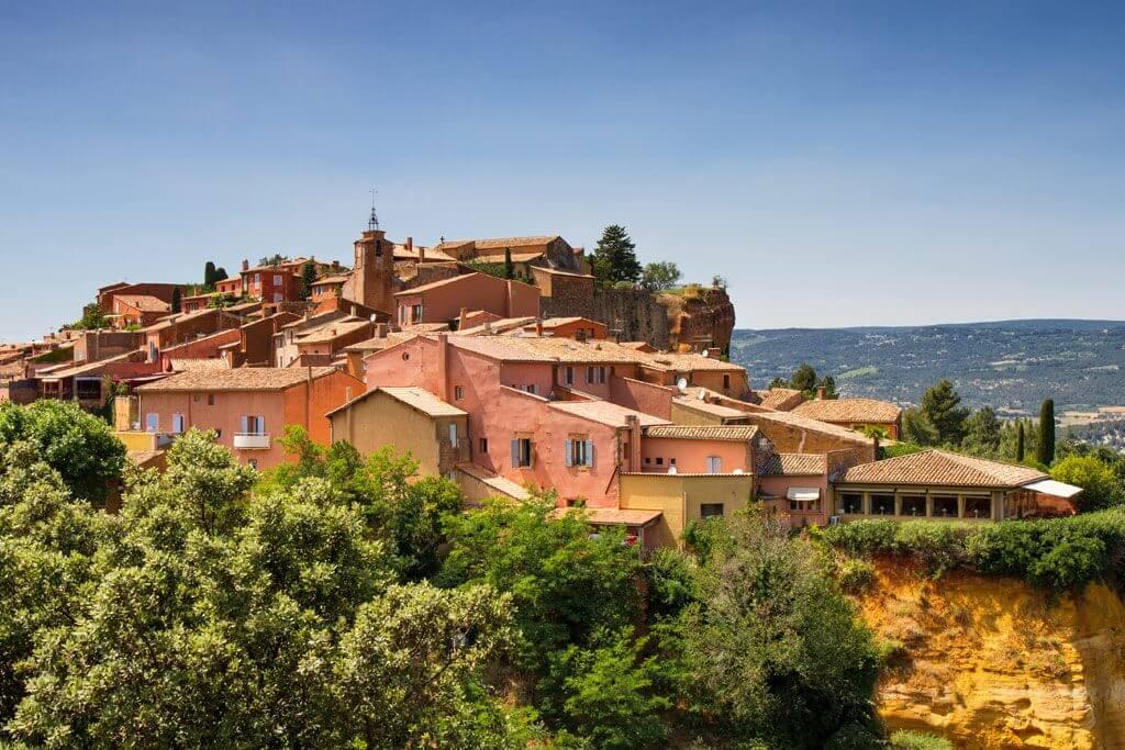 Hilltop Village of Roussillon - Provence
