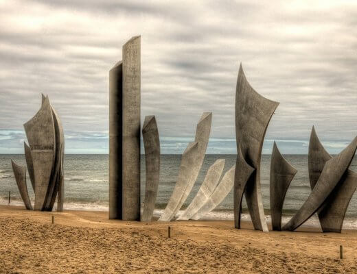 Omaha Beach Memorial - Normandy, France