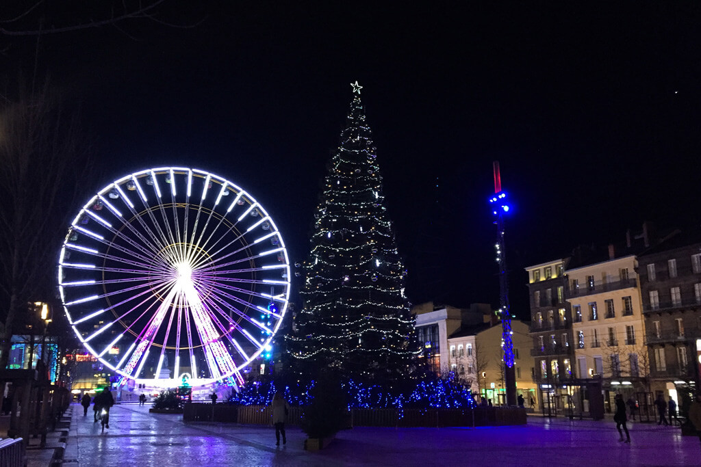 Clermont Ferrand Christmas Market