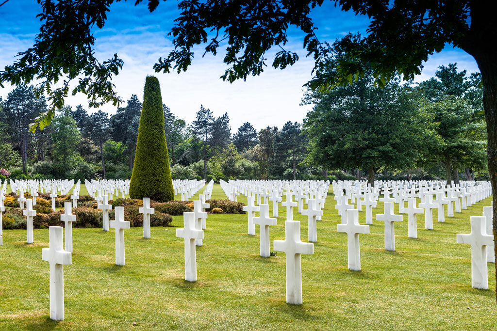 American Cemetery - Omaha Beach Normandy