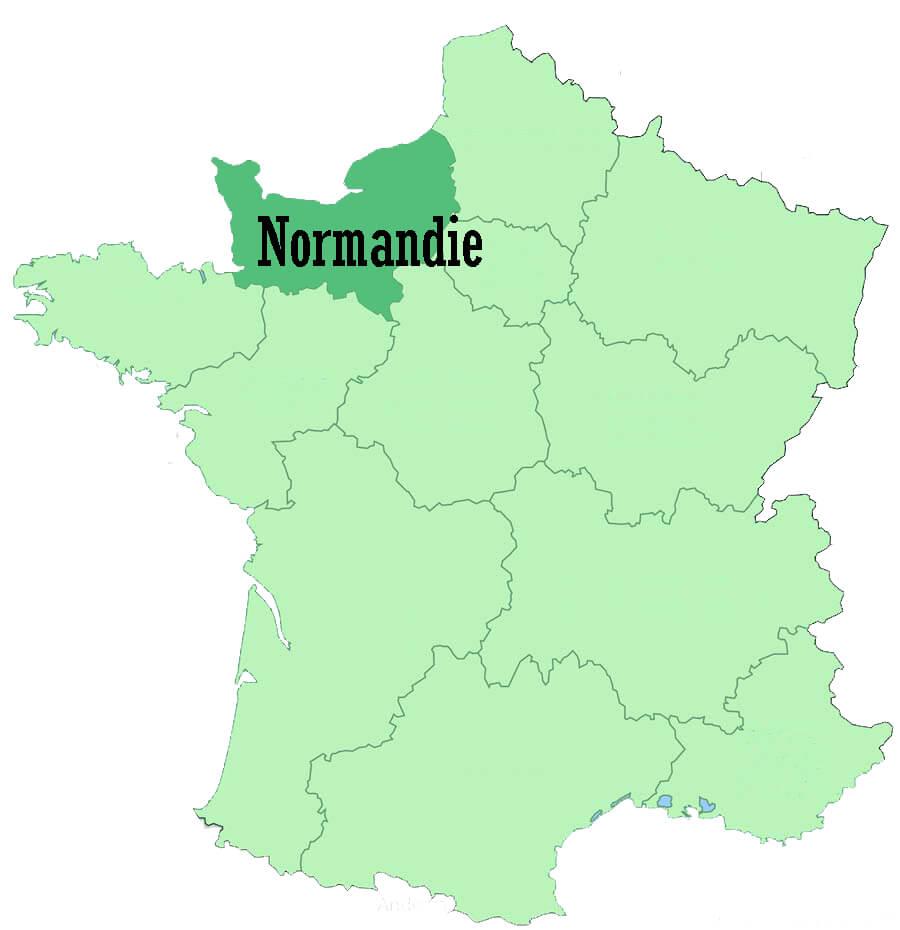 Normandie French Region