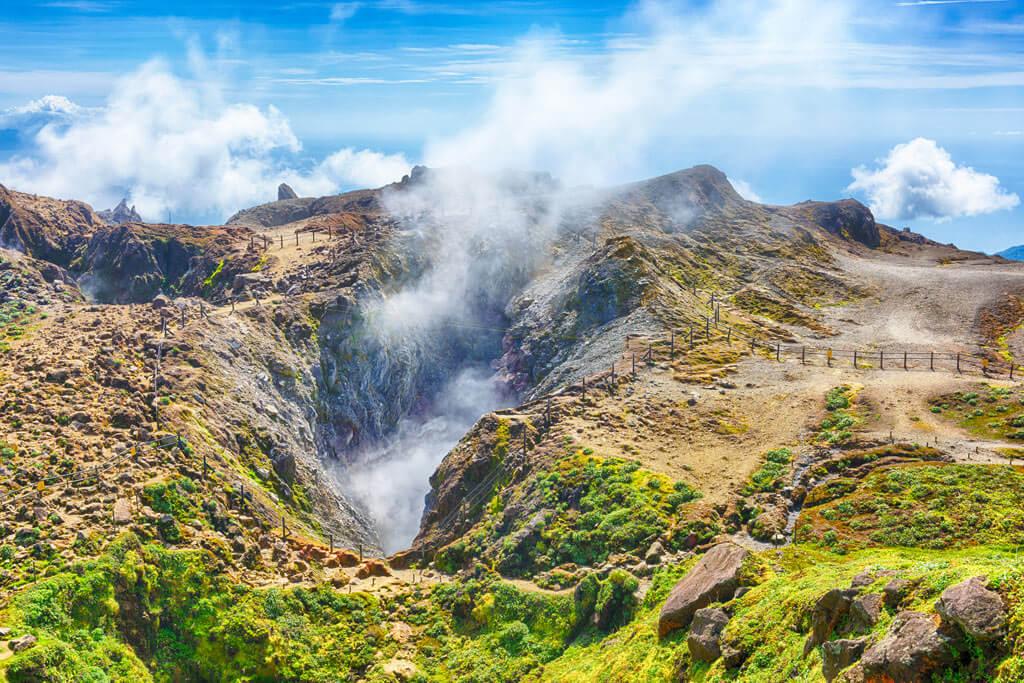 Souffriere Volcano - Guadeloupe