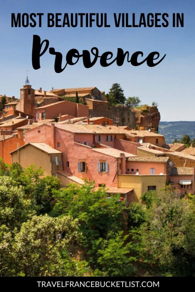 Most beautiful villages in Provence, France