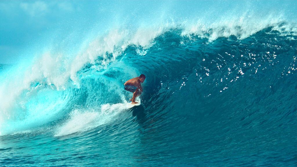 Big Barrel Wave - Teahupoo Tahiti