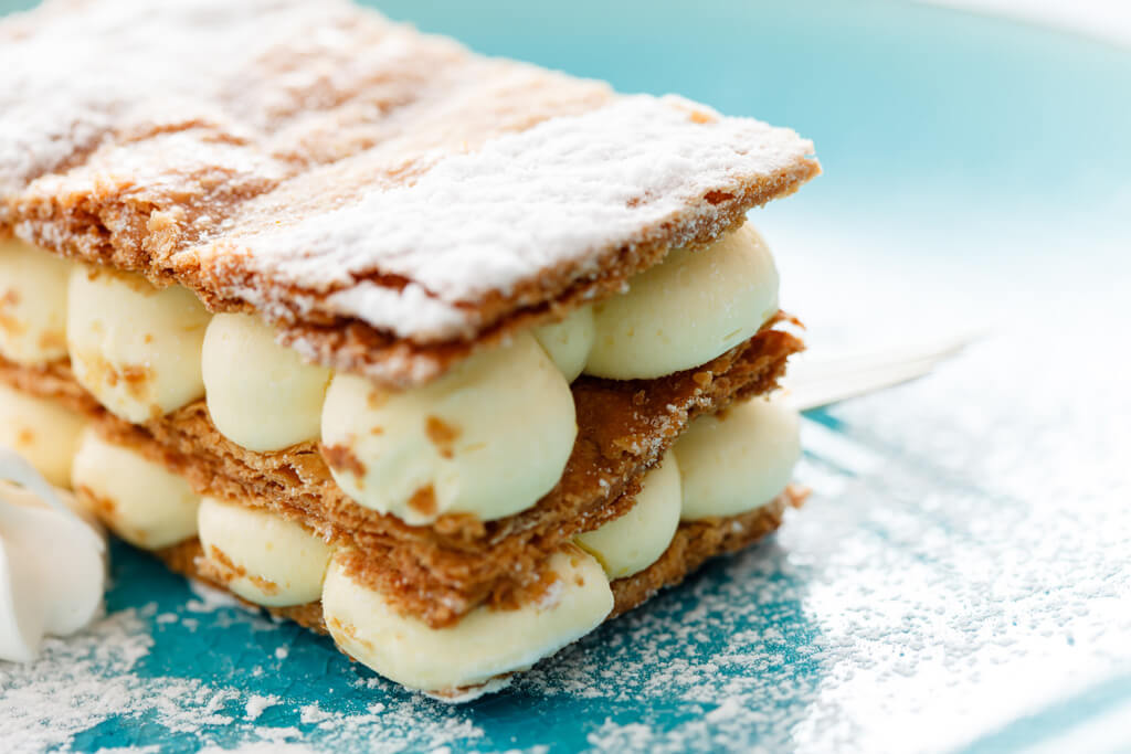 Millefeuille cake