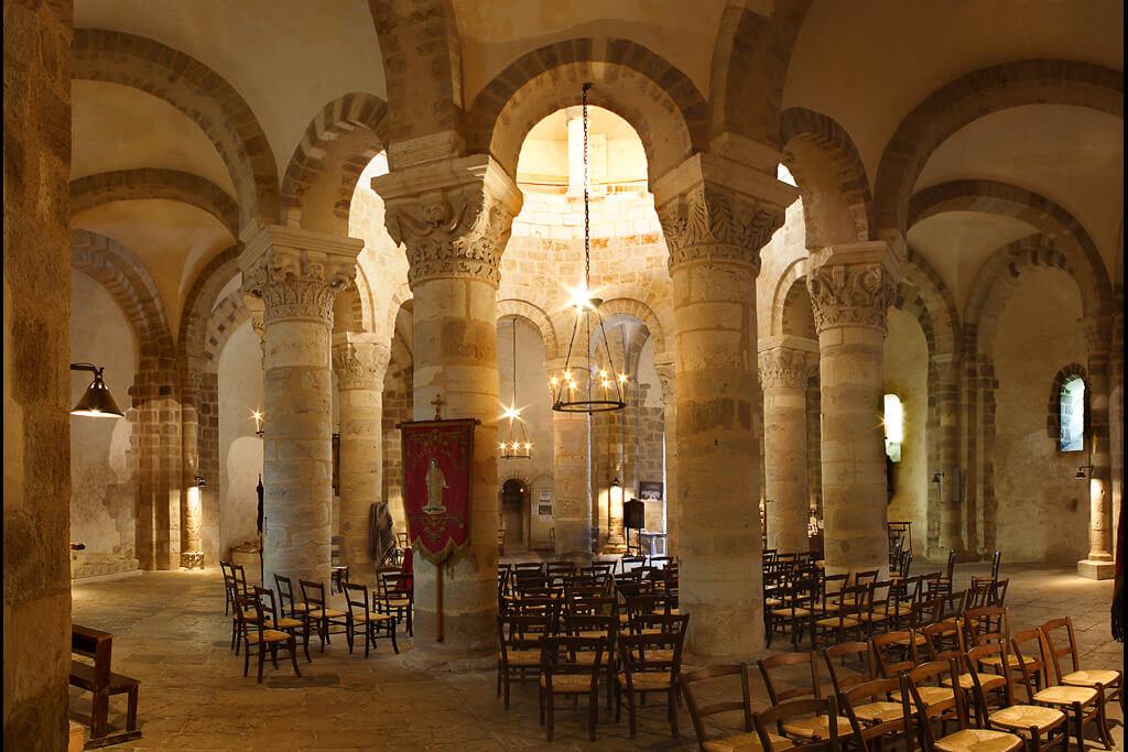 Basilica Saint-Etienne of Neuvy-Saint-Sepulchre