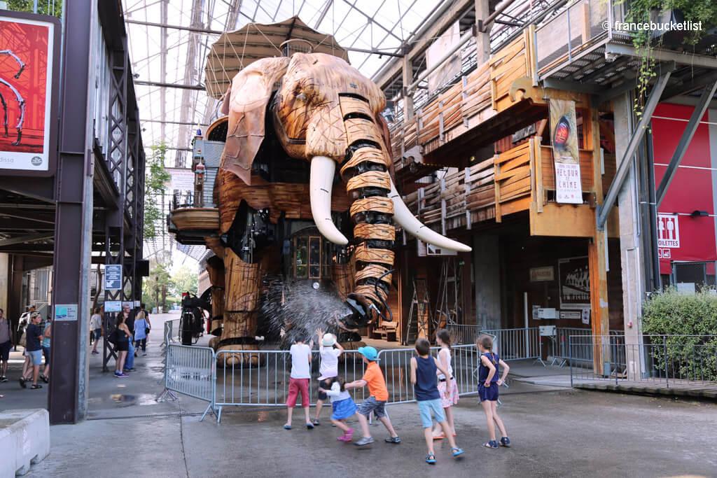 Mechanical Elephant - Nantes