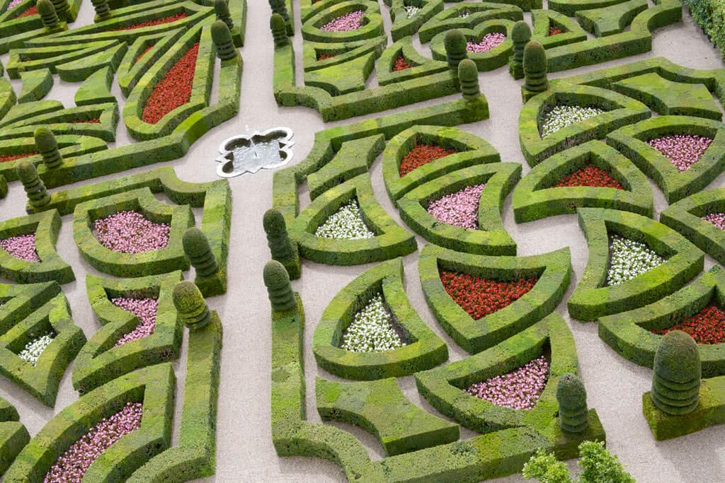 Villandry Gardens - Val de Loire