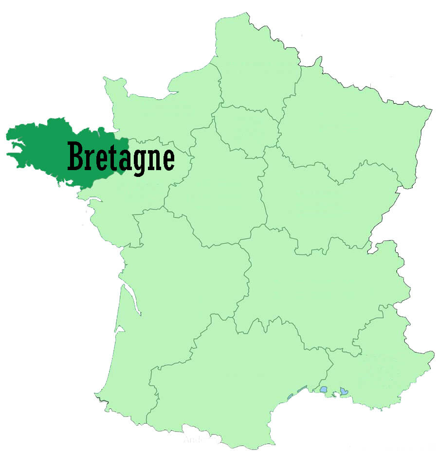 Region of Brittany - France