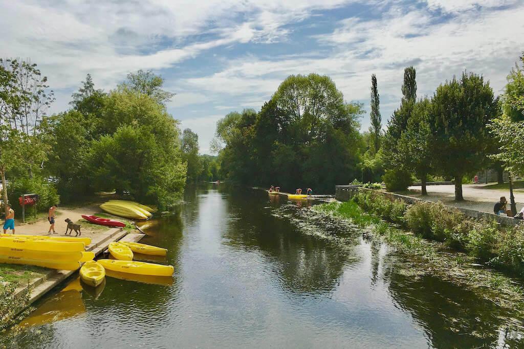 Kayaking Dronne River - Dordogne