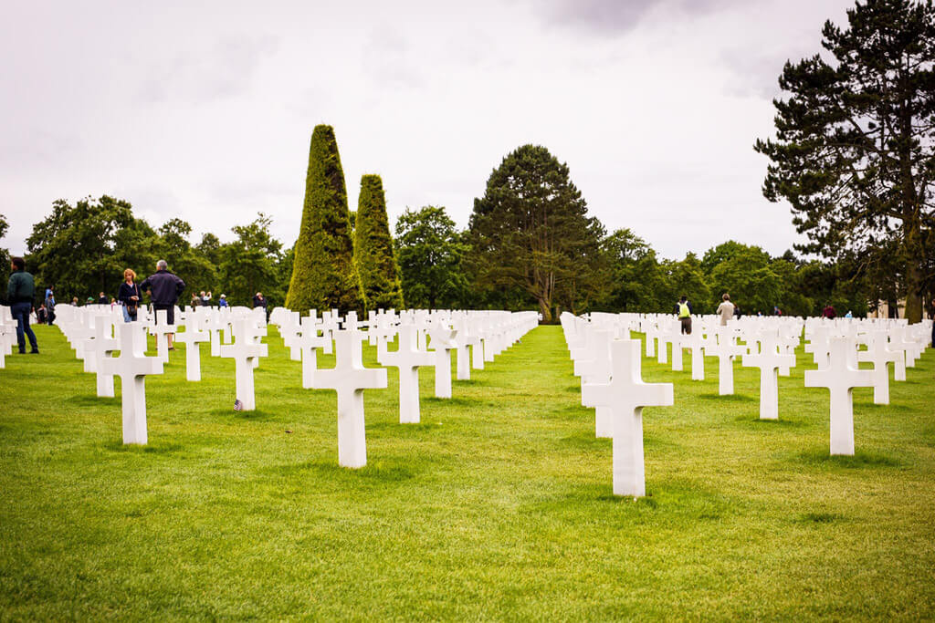 American Cemetery-Normandy