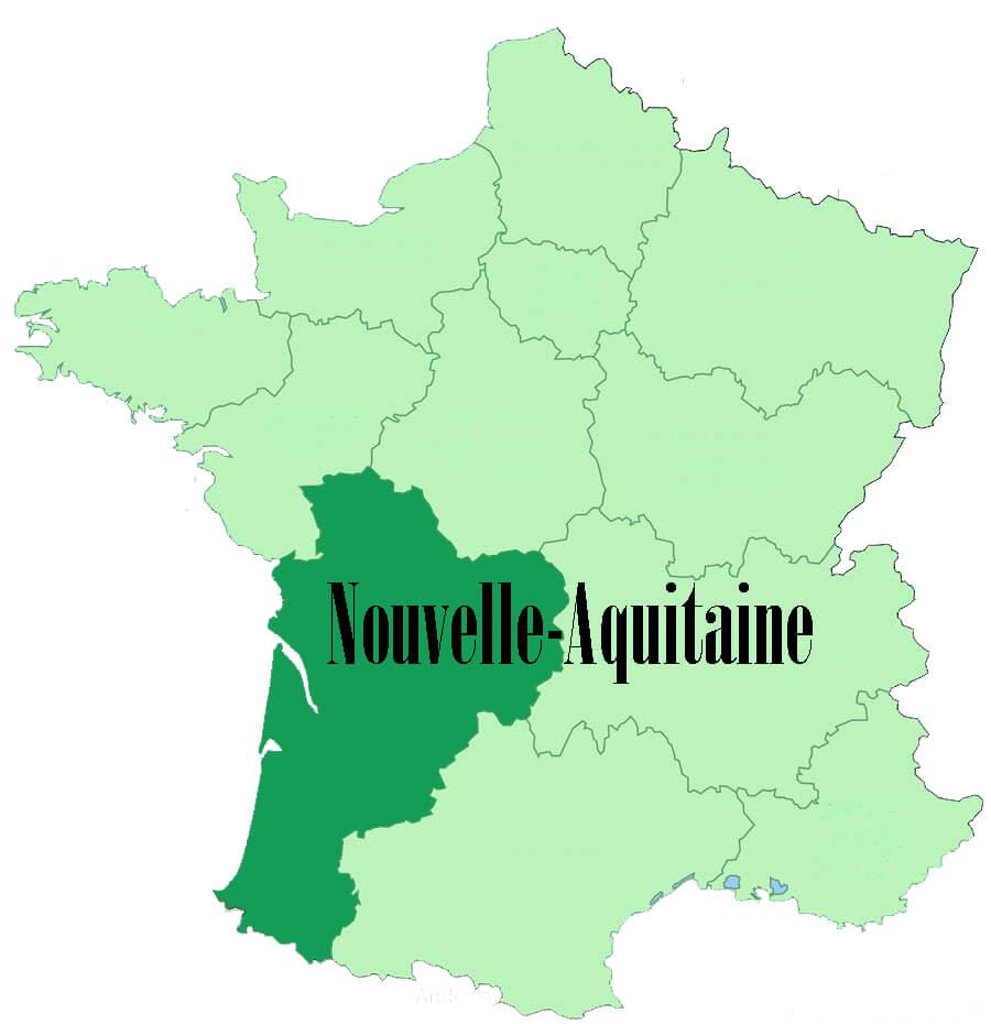 Region of Nouvelle-Aquitaine - France