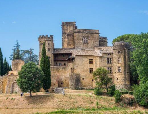 Château de Lourmarin - Southern France