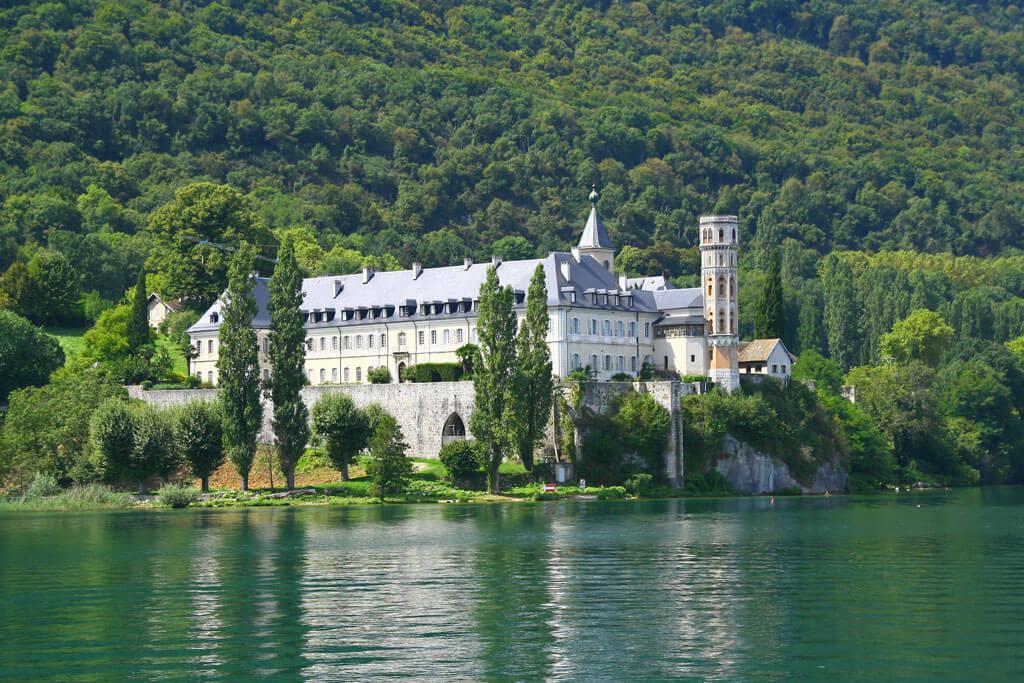Hautecombe Abbey - Lac Bourget