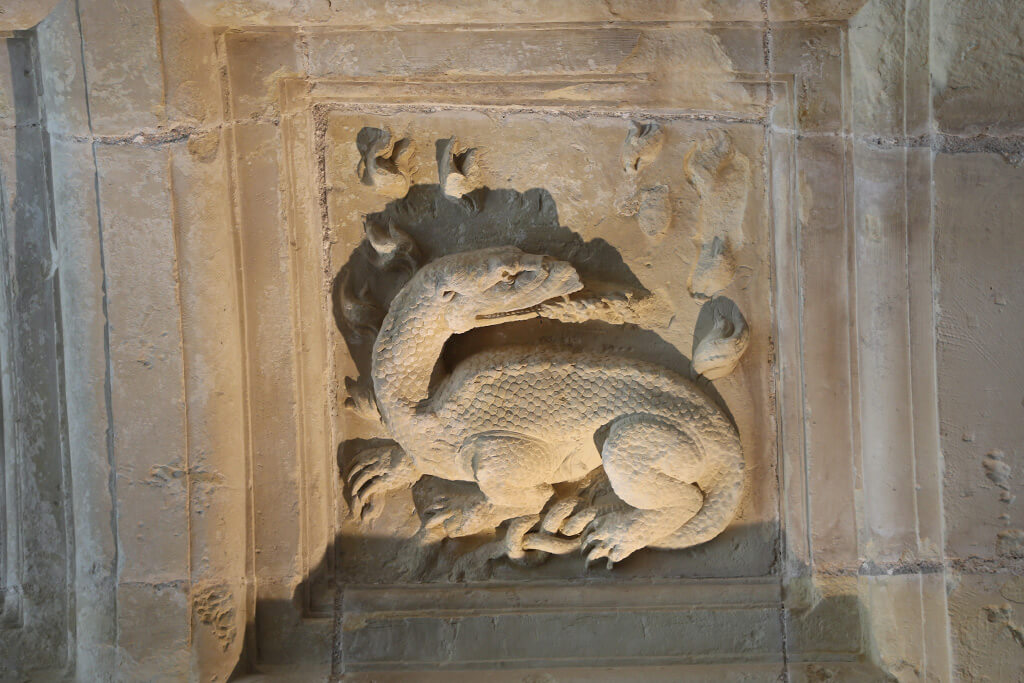 Château de Chambord - Detail Ceiling