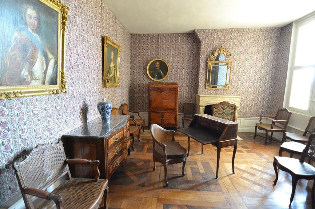 Château de Chambord inside