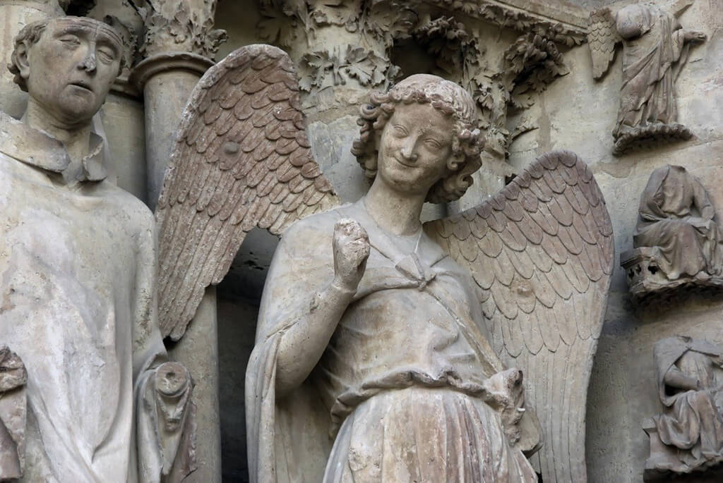 Ange au Sourire - Reims Cathedral