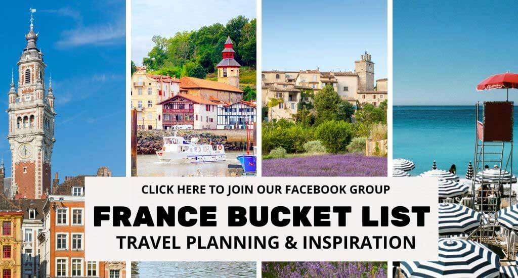 Join France Bucket List Facebook Group