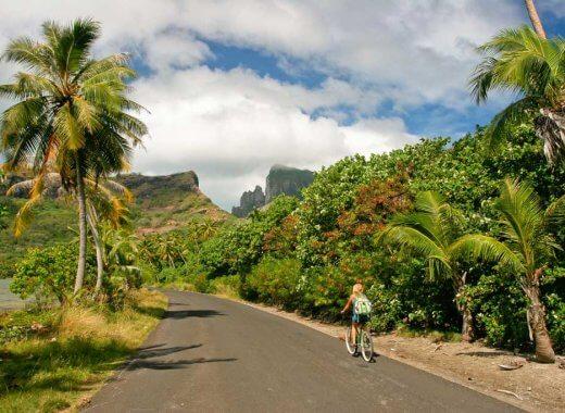 Bike Riding - French Polynesia